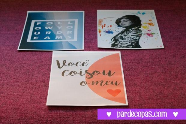 """""""Follow Your Dreams"""", """"Amy Winehouse"""" e """"Você Coisou meu ♥""""! É muito talento e criatividade! HAHA!"""