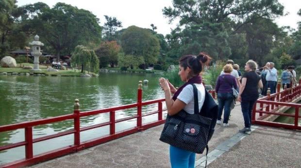 Momento de tranquilidade, beleza e cultura Jardim Japonês de Buenos Aires (Foto: Arquivo Pessoal)