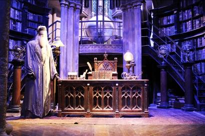 O escritório de Dumbledore