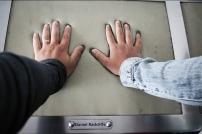 As mãos do Daniel foram as que melhor se encaixaram nas nossas haha