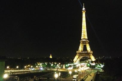 Não é a toa que é a cidade das luzes! *___*