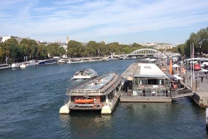 Rio Sena e a vista maravilhosa!