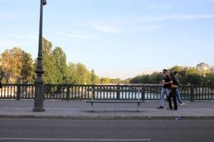 A vista para o Rio Sena 😍